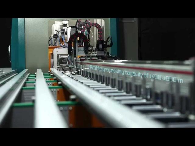 PIM 6508 - PVC Profile Processing Machine