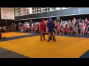 Открытый турнир по боевому самбо Губский Алексей 57 кг г.Донецк красный