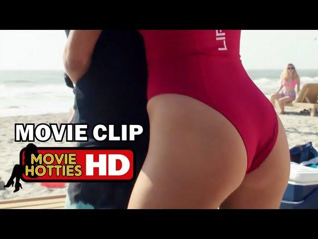 Baywatch Movie Clip - Stuck Boner - KELLY ROHRBACH (2017) HD