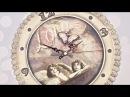Decoupage zegar z aniołami -DIY tutorial