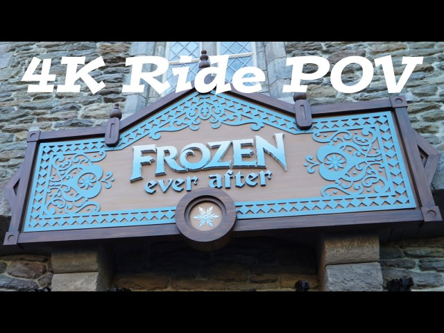 FROZEN Ride | Frozen Ever After Full ride through 4K | Walt Disney World Epcot | FL Attractions 360