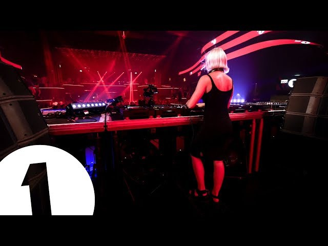B.Traits live from Hï for Radio 1 in Ibiza