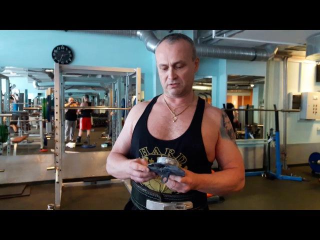 Юлий Грахов тест ХАБ Силачи Старой Школы 25 кг!