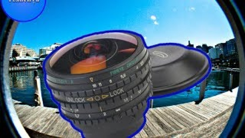 Обзор бюджетного объектива Belomo EWP Fisheye Lens MC 3.5/8 A