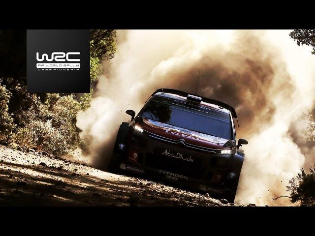 WRC 2017 07 Rally Italia Sardegna review clip