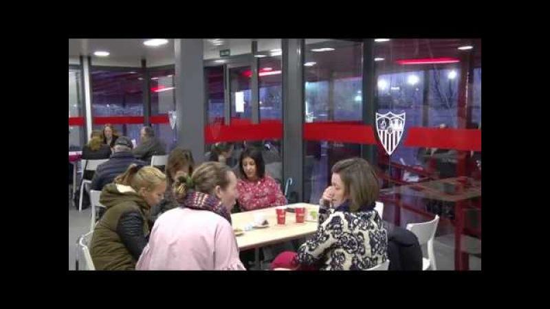 Nueva imagen cafetería Ciudad Deportiva. 07/03/18. Sevilla FC