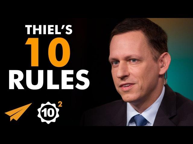 A BAD Plan is BETTER Than NO Plan! - Peter Thiel (@peterthiel) - Top 10 Rules