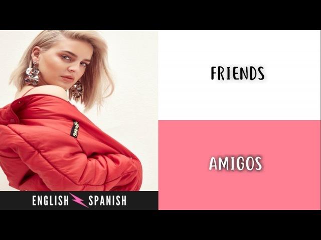 Marshmello Anne-Marie - FRIENDS (Letra Ingles y Español)