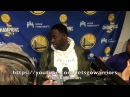 Entire DRAYMOND postgame: on him and Durant handling the ball, Blazers improved for sure