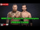 WWE NXT TakeOver: Philadelphia Aleister Black vs. Adam Cole (Extreme Rules Match) WWE 2K18