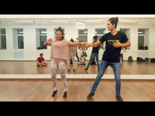 Felipe Garcia and Erica Tintel - Zouk 3 Demo (Meu Anjo)