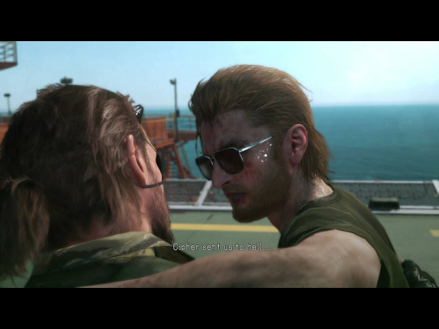 Metal Gear Solid V: The Phantom Pain - Kazuhira Miller Big Boss