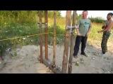 Добывание огня трением - Метод ОГНЕННЫЕ ВОРОТА Making fire by friction. Method Fiery gates