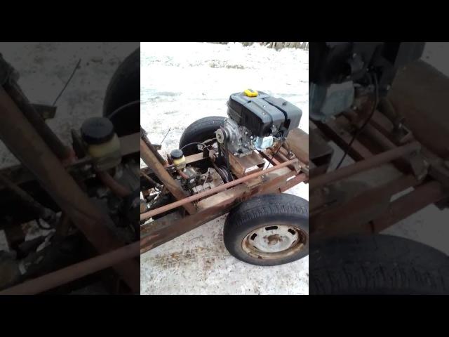 Самодельный мини трактор 6,5 л с