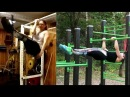 The One Arm Pull Up Front Lever GIRL - Madeleine Leander