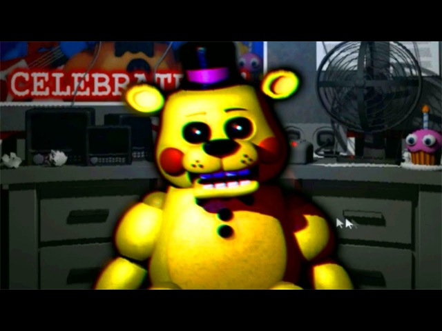GOLDEN TOY FREDDY IN FNAF!! Five Nights at Freddy's: Remastered (JUMPSCARE)