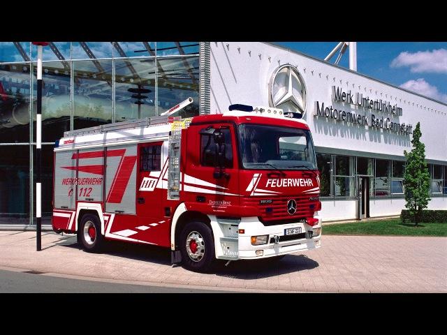 Mercedes Benz Actros 1835 F Rosenbauer HLF MP1 1997 2002