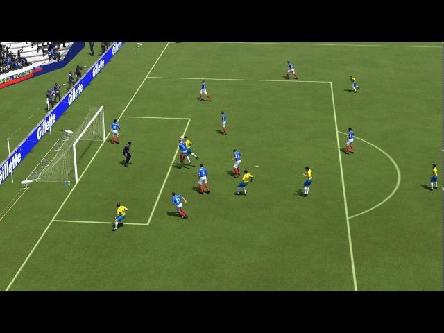 FIFA 14 (Classic Patch) Brasil 4x0 Russia / WC 1994