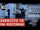 TIROTEIO NA ROCINHA Exército na Rocinha operação da PM e EXÉRCITO contra traficantes da Rocinha