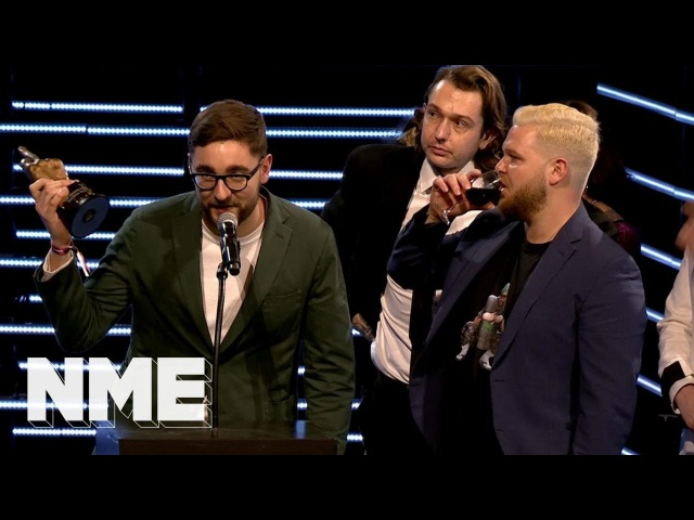 Alt-J win Best British Band supported by Zig-Zag | VO5 NME Awards 2018