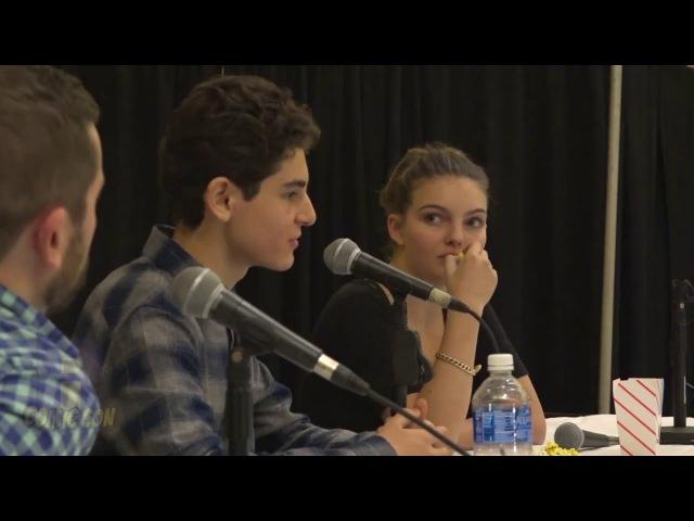 David Mazouz and Camren Bicondova | Rhode Island Comic Con | Gotham | 11 November 2017