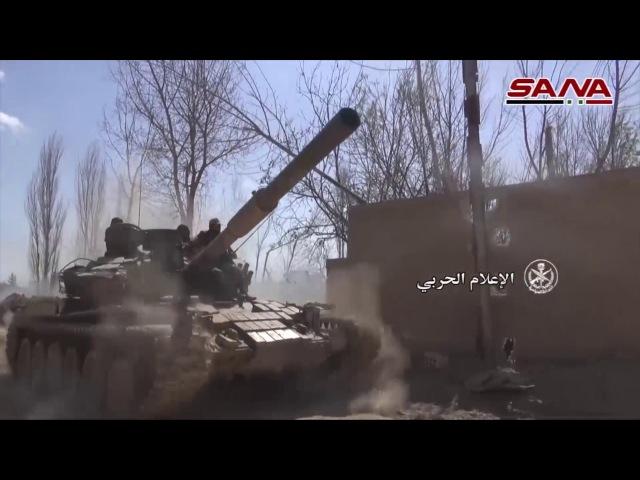 Вооруженные силы САР восстанавливают контроль над плантацией Джисрин в Восточной Гуте