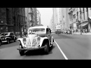 Driving in New York 1945 caught on camera Time travel!