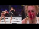 Самые ЭПИЧНЫЕ и ЖЕСТОКИЕ ЖЕНСКИЕ ДРАКИ В ММА!/The most EPIC and brutal womens fights in the MMA!