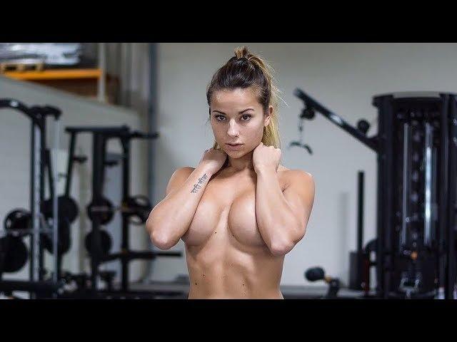 Fitness model - SANDRA PRIKKER Kickboxing Gym workout routine