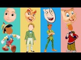 Wrong Face Disney Prince James Peter Pan Pinocchio Ron Stoppable Family Finger Song Nursery Rhymes