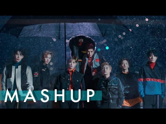 NCT U BTS EXO MONSTA X Boss Fire Ko Ko Bop Dramarama MASHUP feat NCT 127 Cherry Bomb