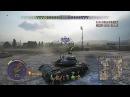 World of Tanks PS4 T49 стоковая пуха...