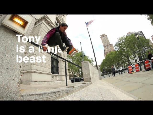 Underground Wheel Co - Tony (Karr) is a ninja beast