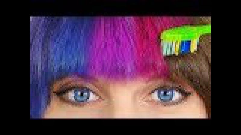 10 лайфхаков для волос / Простые прически