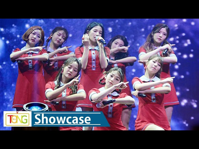 Gugudan(구구단) 'Snowball'(스노우볼) Showcase Stage (쇼케이스, Chococo Factory, Chococo, 쵸코코)