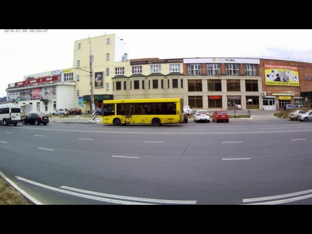 Автобус МАЗ 206 Приморский бульвар Тольятти