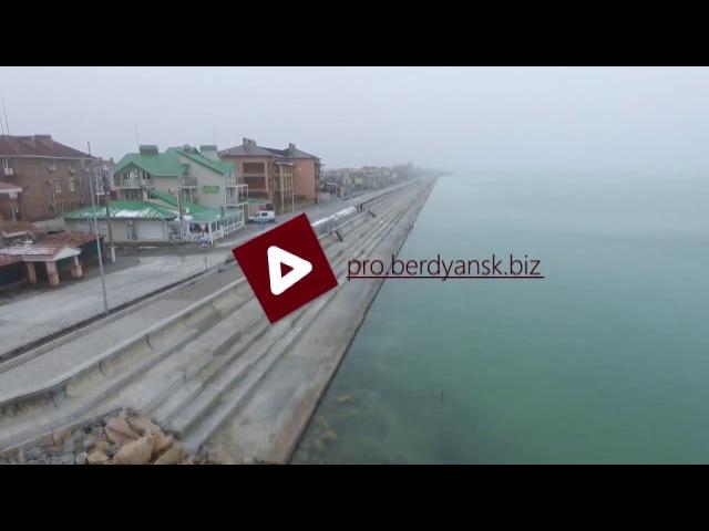 Бердянская Слободка и 3 пляж в феврале