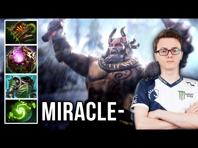 Miracle- Beastmaster EPIC Game Carry Build - Dota 2