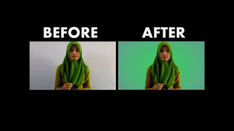 Remove Background - Chroma Key ( without green screen ) adobe after effects cs4