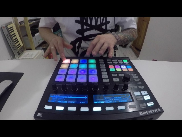 J. Balanov - Stakes Is High (J Dilla Tribute ) live performance on Maschine