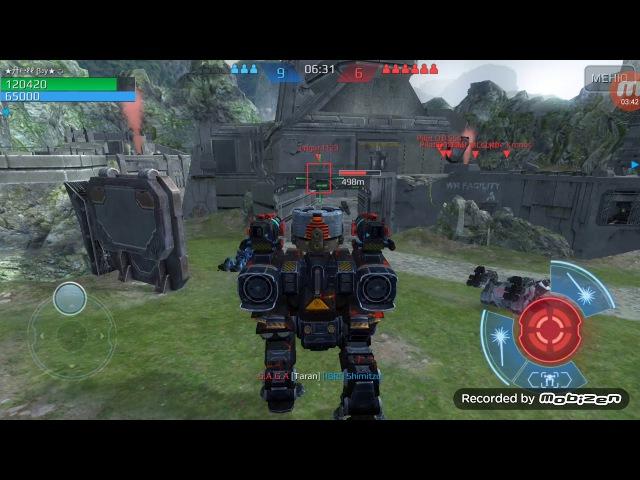 War robots. Dragoon ,Vortex