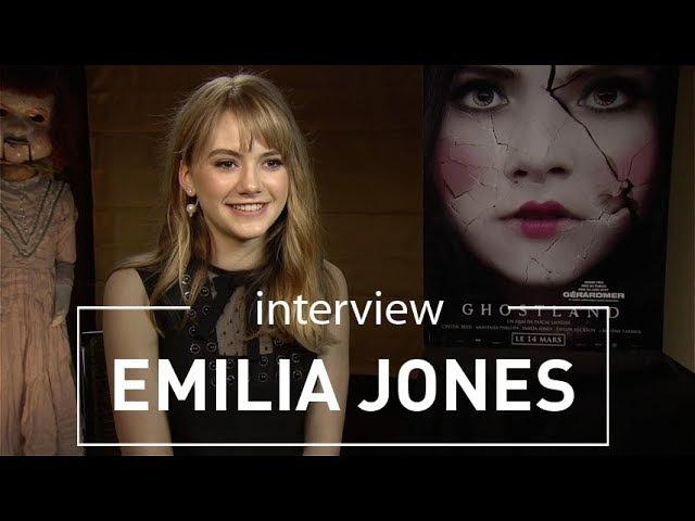 Страна Призраков   Emilia Jones - Interview GHOSTLAND