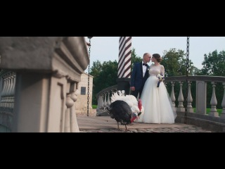 Роман и Мэри. Свадьба в замке БИП.