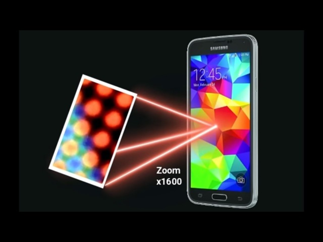Cell Phone Screen Experiment - YouTube