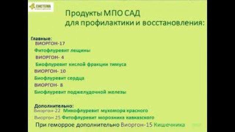 Варикоз, Геморрой, Сердечно сосудистая Система и Флуревиты. Врач Данилкин, АКЛОН...