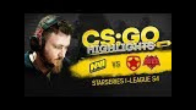 CSGO Highlights: NAVI vs Gambit, HellRaisers @ StarSeries i-League S4
