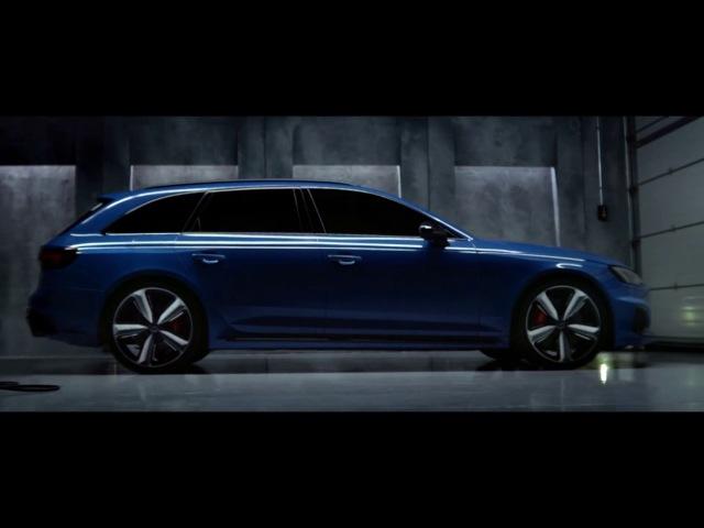 Audi RS 4 Avant Неистовый зверь
