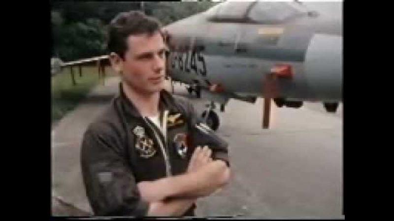 Afscheid F 104 312 Sqn juni 1984