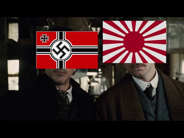 HOI4 - When Germany and Japan Attack the East