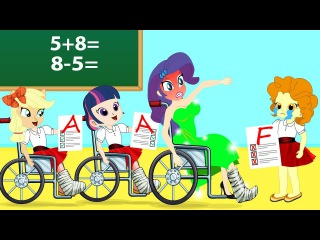 Funny Class Go To School Twilight Sparkle and Flash Sentry Creative Learning ! MLP Equestria Girls не порно секс